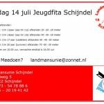 Zondag 14 juli jeugdfita Schijndel