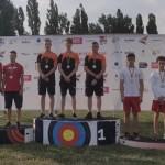 Junior recurve team pakt overtuigend goud in Youth Cup Boekarest