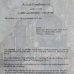 Rouwkaart André Goedemans