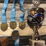 Medailles indoor regio-competitie 2019